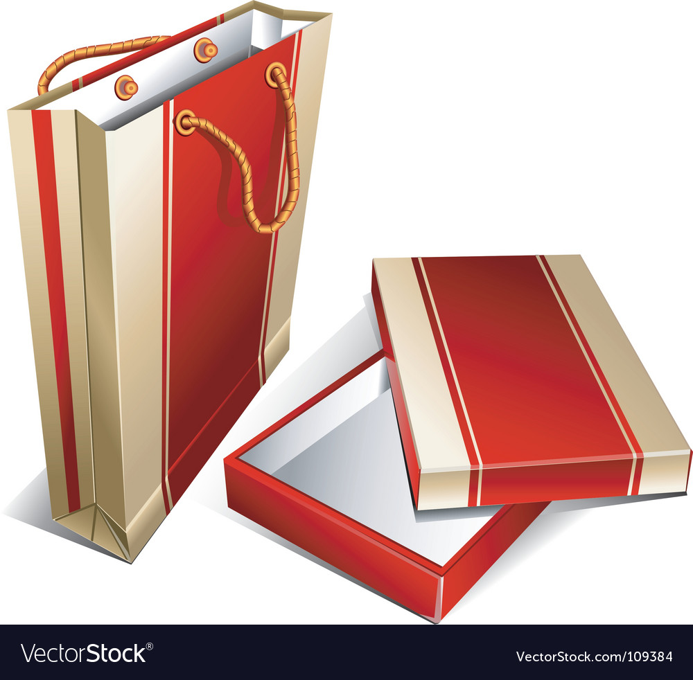 Package and box vector | Price: 1 Credit (USD $1)