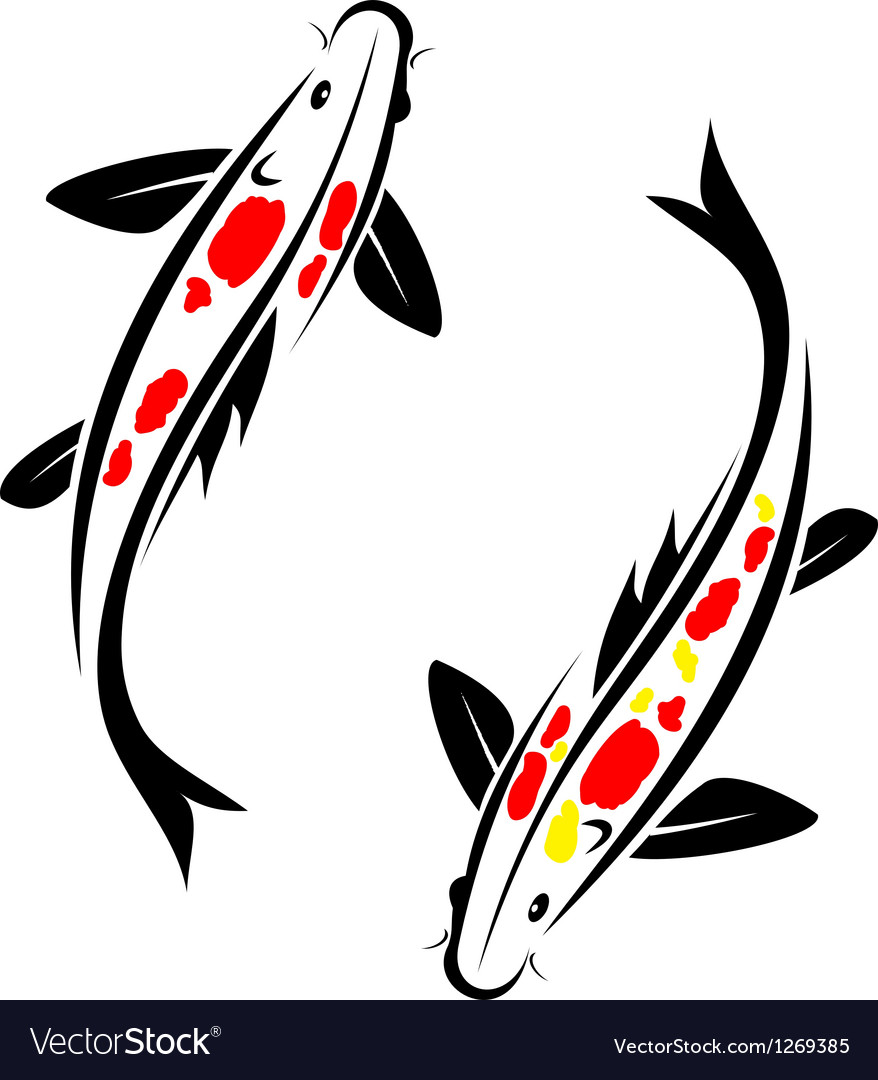 Carp koi vector | Price: 1 Credit (USD $1)