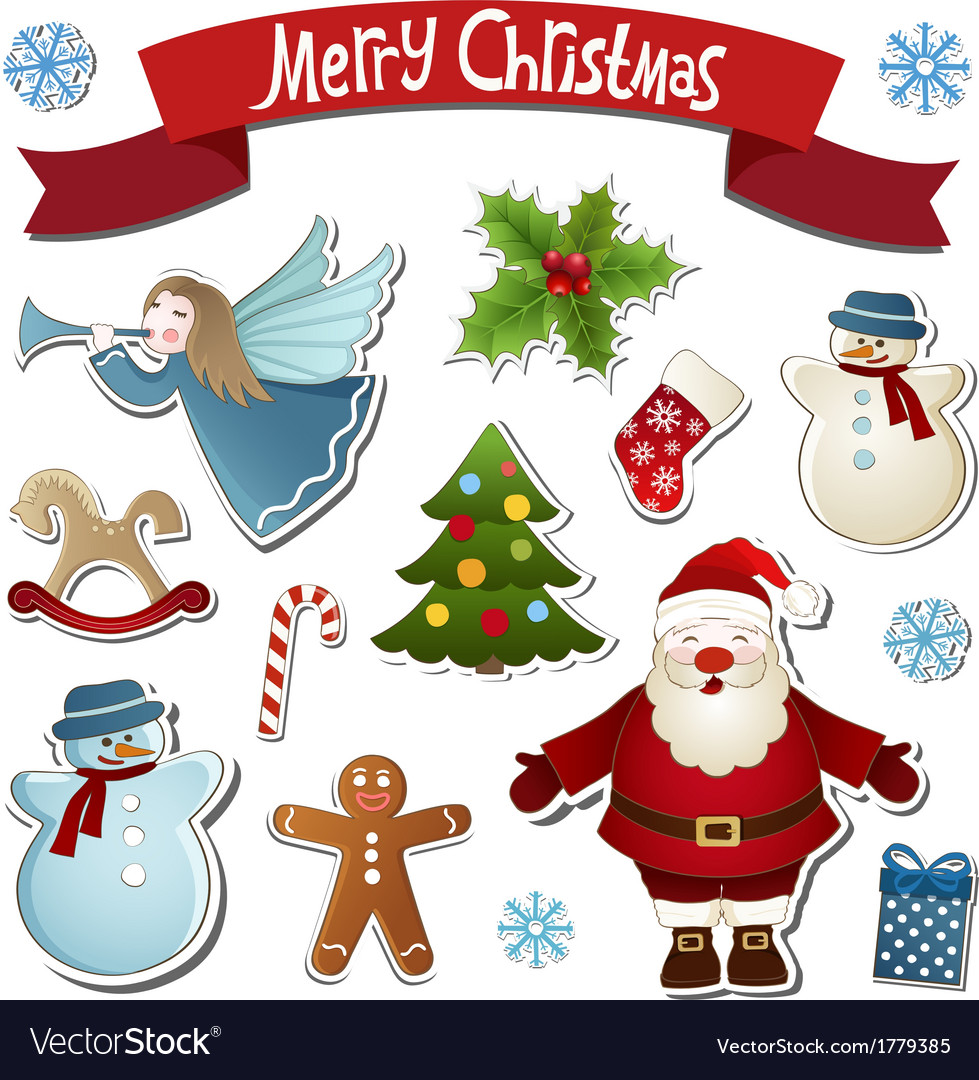 Christmas collection vector | Price: 1 Credit (USD $1)