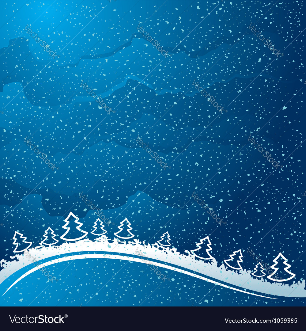 Just realistic beautiful snow vector | Price: 1 Credit (USD $1)