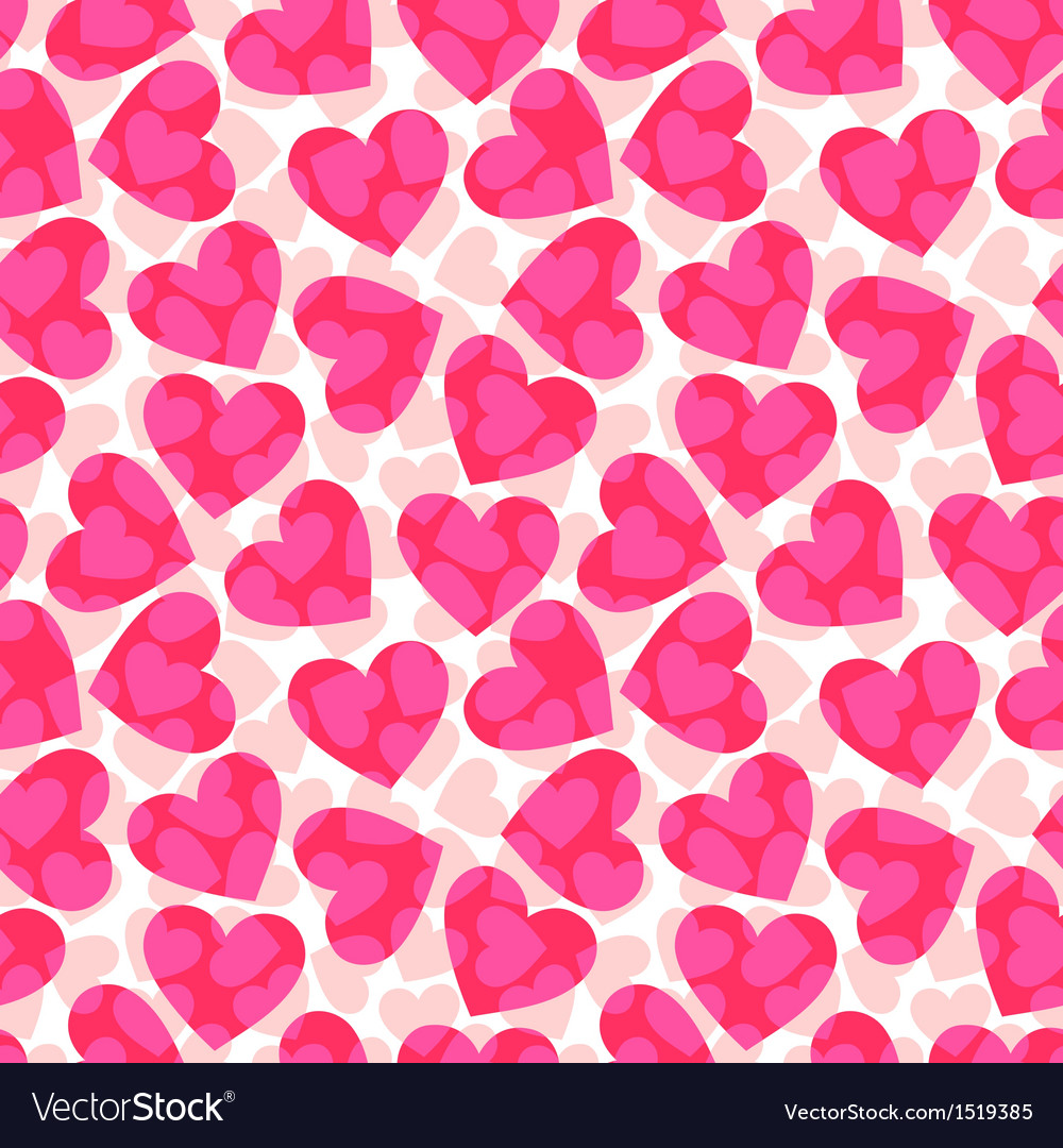 Pink hearts vector | Price: 1 Credit (USD $1)