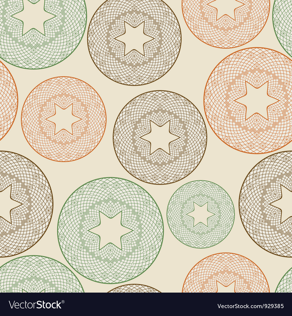 Seamless pattern with lacy balls vector | Price: 1 Credit (USD $1)