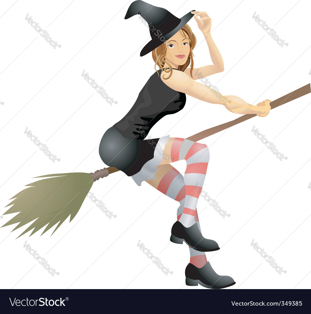 Sexy witch vector | Price: 3 Credit (USD $3)