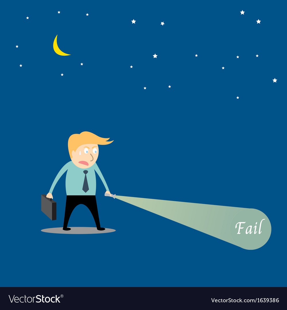 Businessman are searching fial vector | Price: 1 Credit (USD $1)