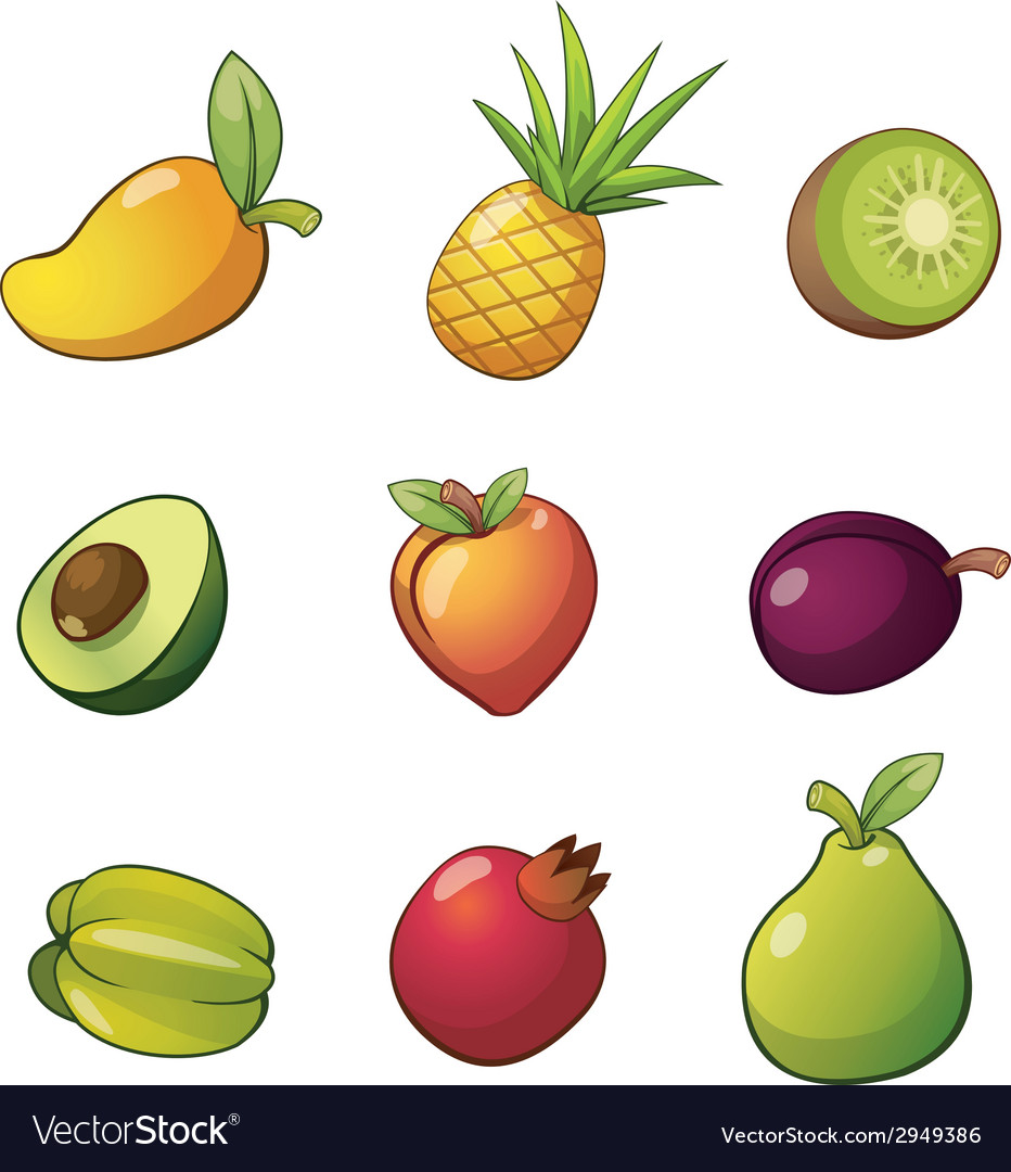 Fruitset vector | Price: 1 Credit (USD $1)
