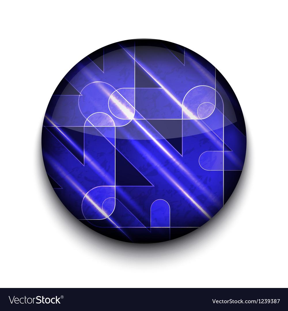 Abstract arrows app icon vector | Price: 1 Credit (USD $1)