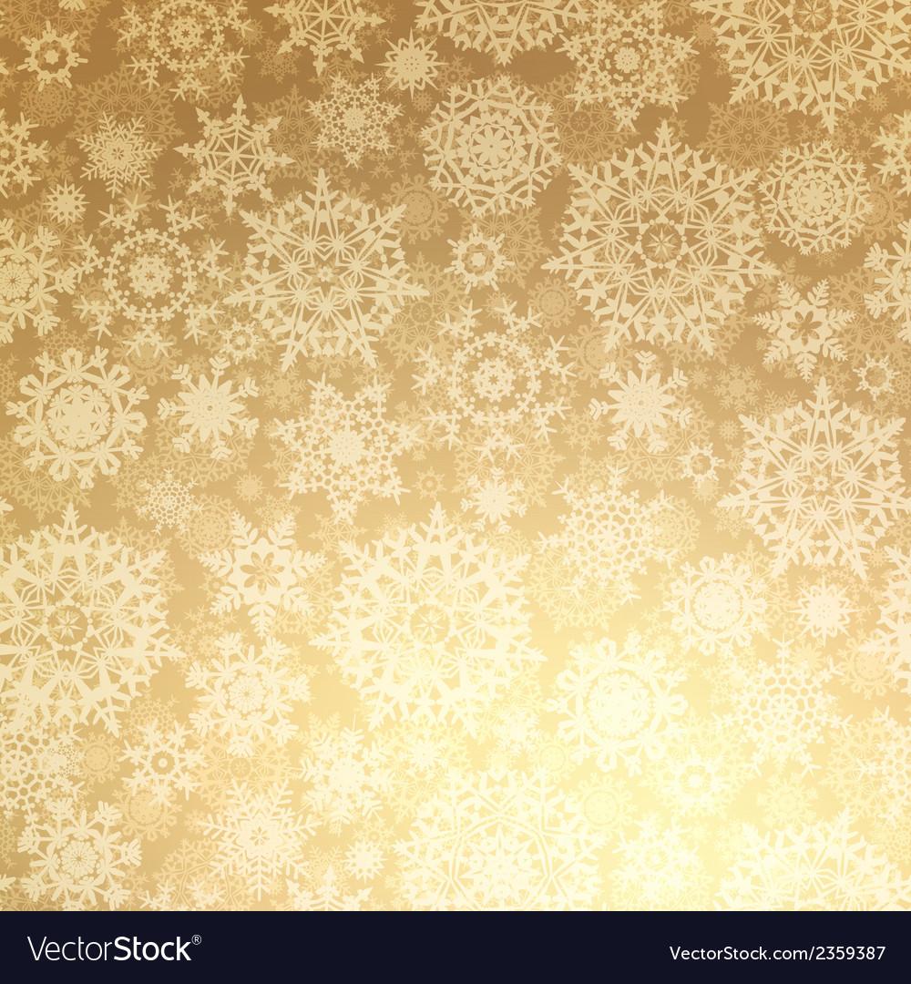 Christmas pattern snowflake seamless eps 8 vector | Price: 1 Credit (USD $1)