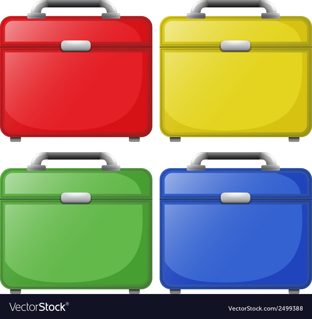 Colourful bags vector | Price: 1 Credit (USD $1)