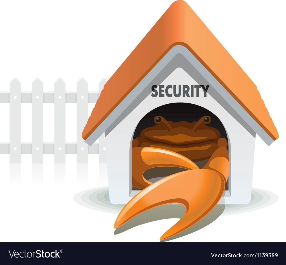 Crab security vector   Price: 5 Credit (USD $5)