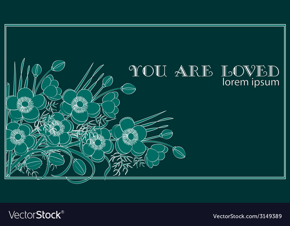 You are loved vector | Price: 1 Credit (USD $1)