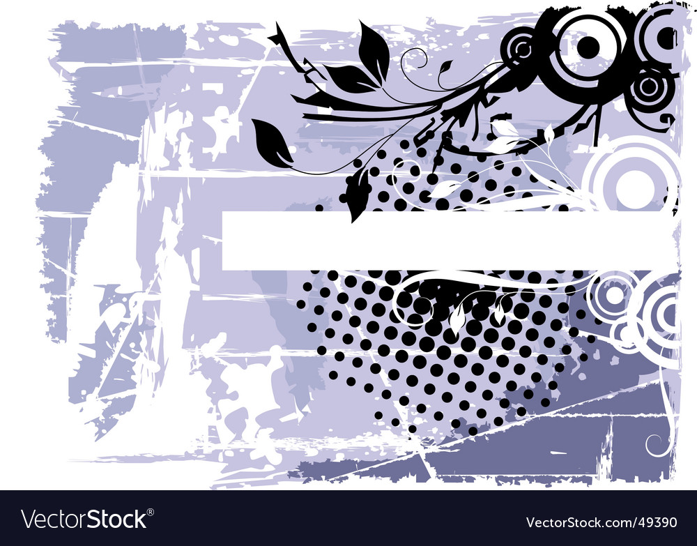 Flowers and waves vector   Price: 1 Credit (USD $1)