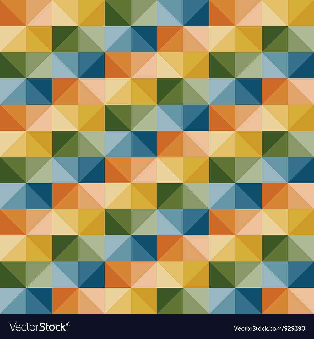 Seamless simple geometric pattern vector | Price: 1 Credit (USD $1)