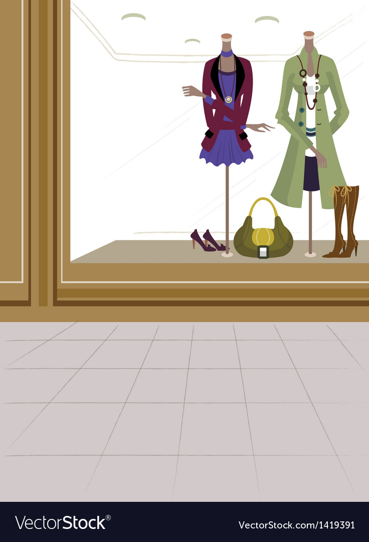 Fashion boutique background vector | Price: 1 Credit (USD $1)