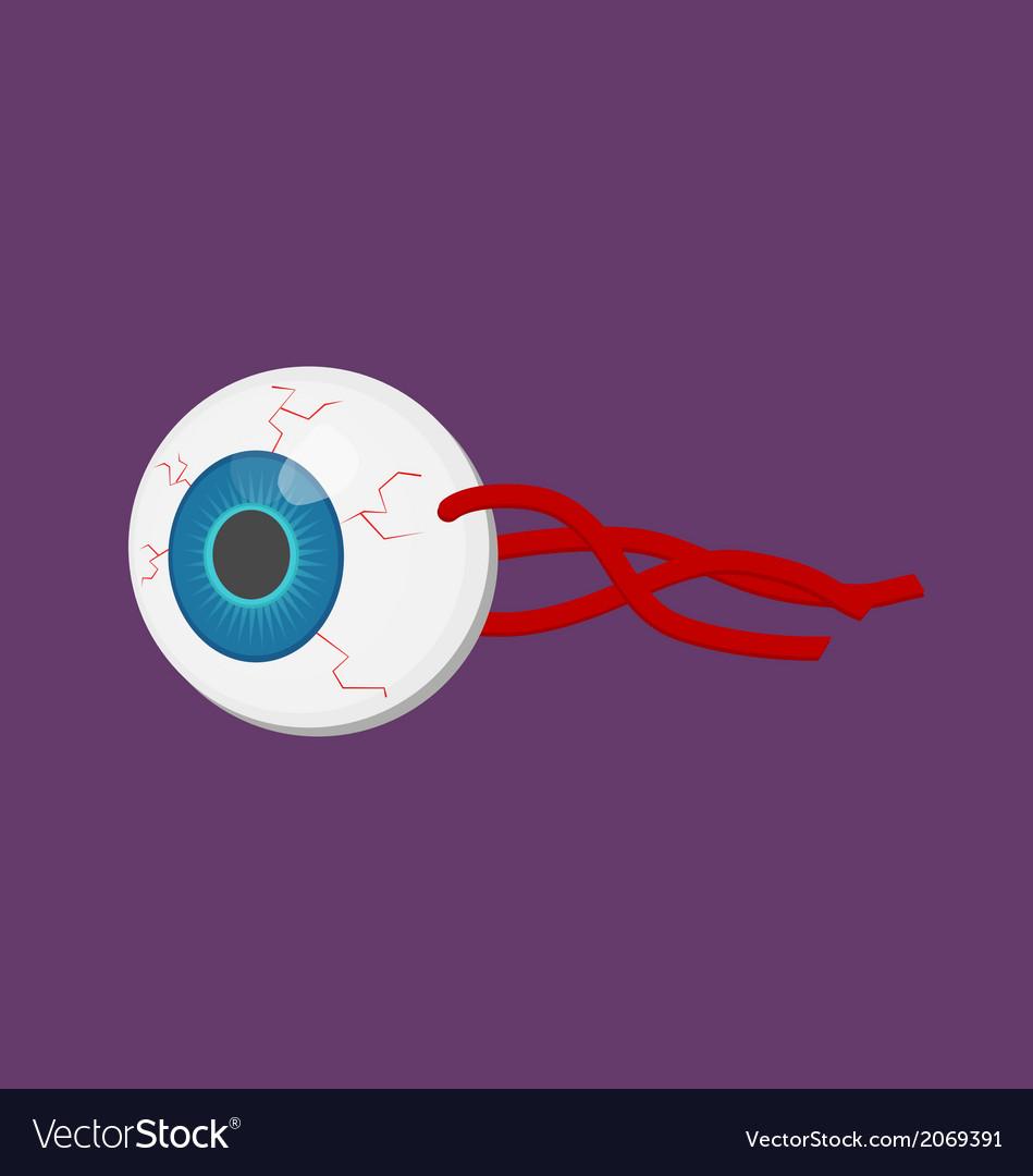 Human body part eyeball vector | Price: 1 Credit (USD $1)