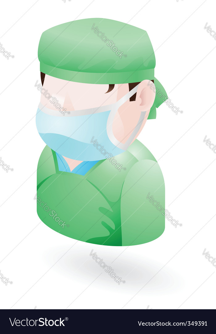 Surgeon icon vector | Price: 3 Credit (USD $3)