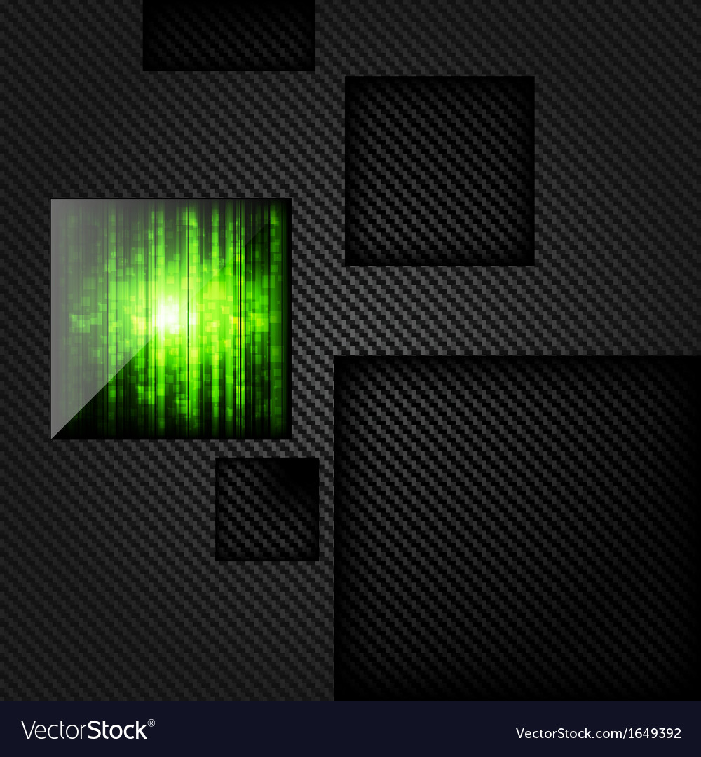 Bacground with carbon and geometric elements vector | Price: 1 Credit (USD $1)