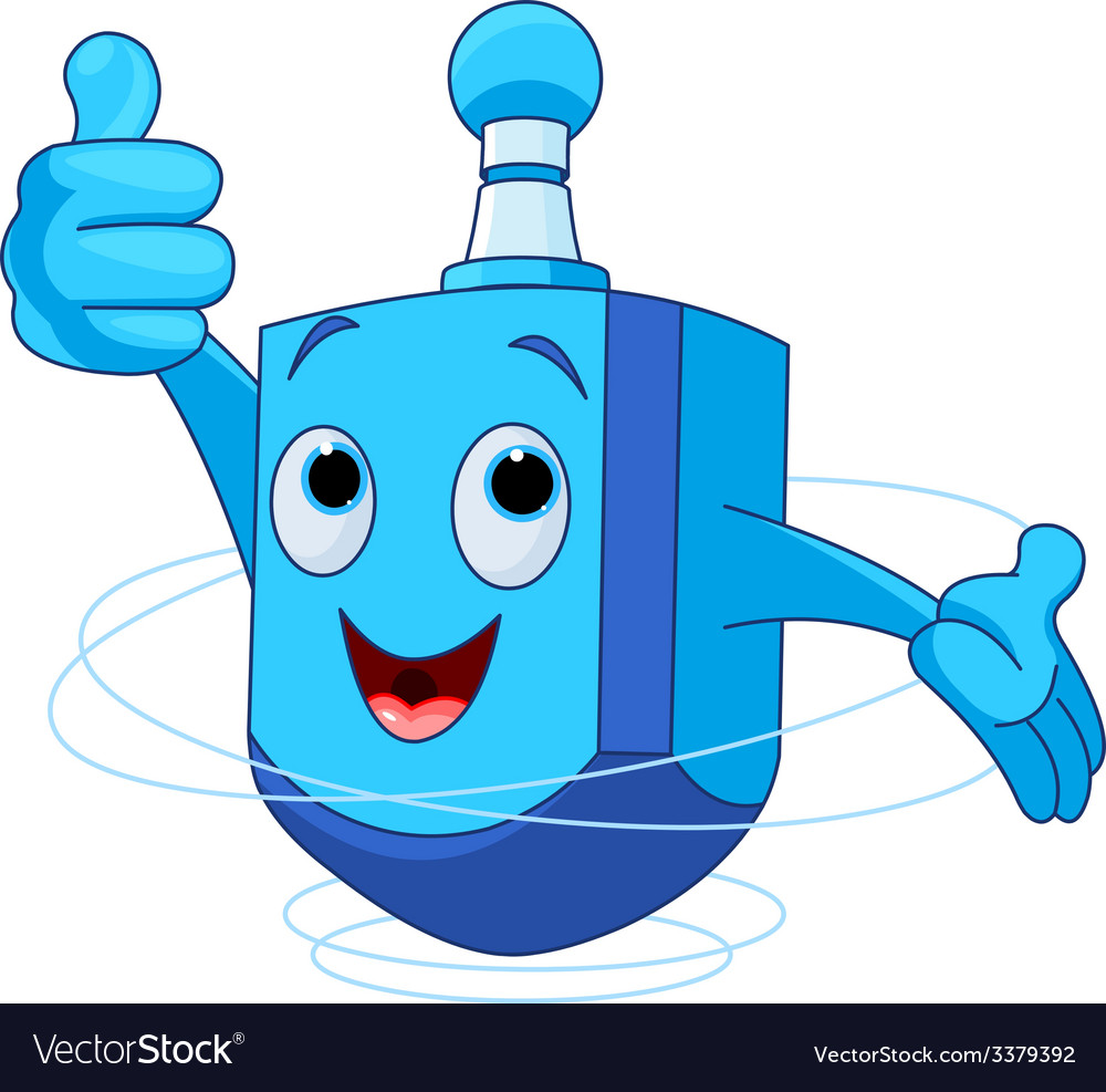 Dreidel character vector | Price: 1 Credit (USD $1)