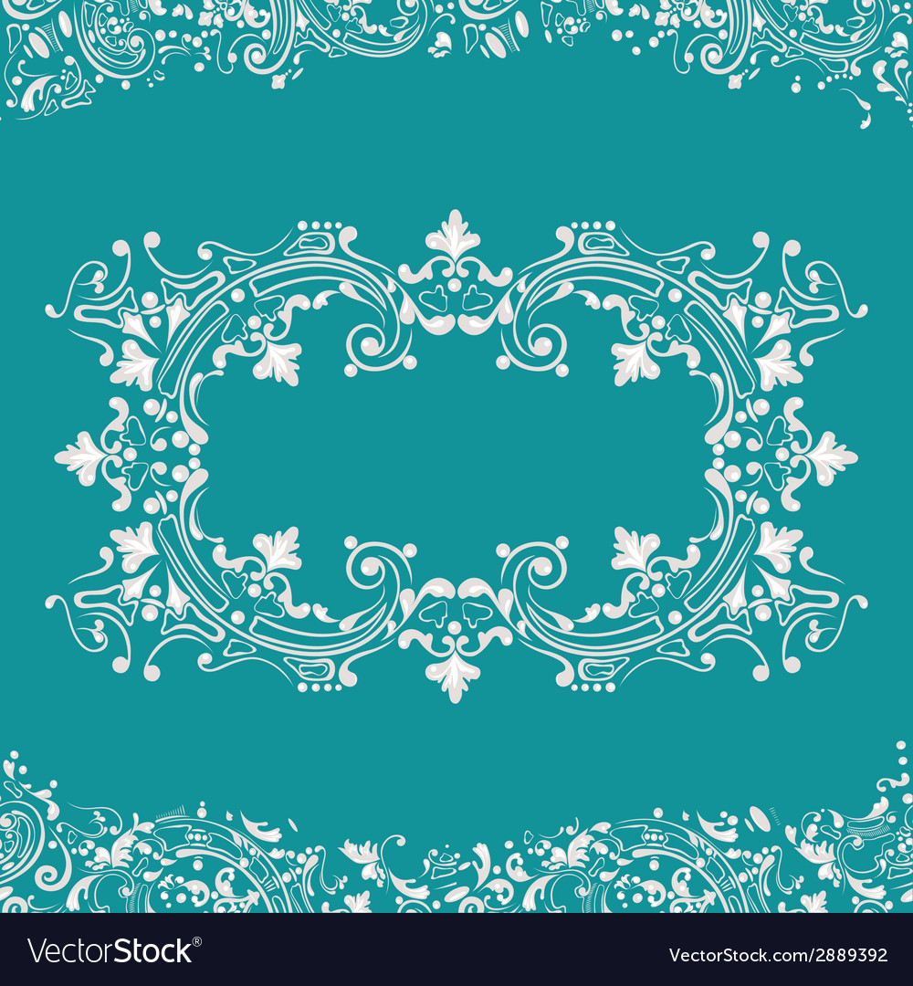 Frame fancy background vector | Price: 1 Credit (USD $1)