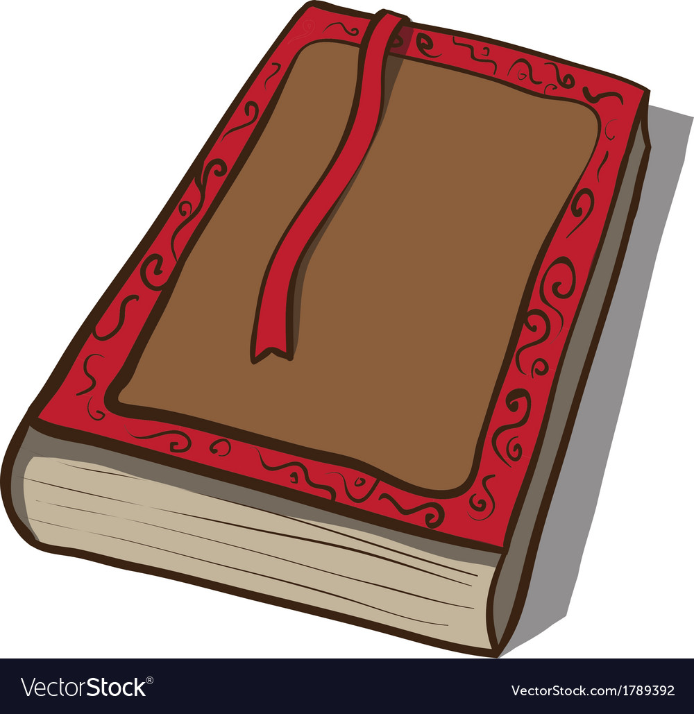 Old book icon hand drawn vector | Price: 1 Credit (USD $1)