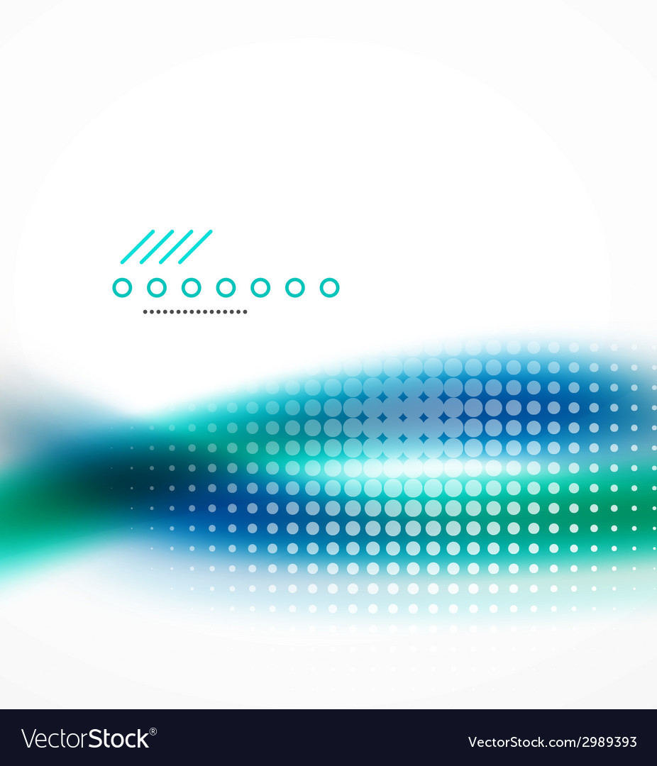 Abstract background blue wave business template vector | Price: 1 Credit (USD $1)