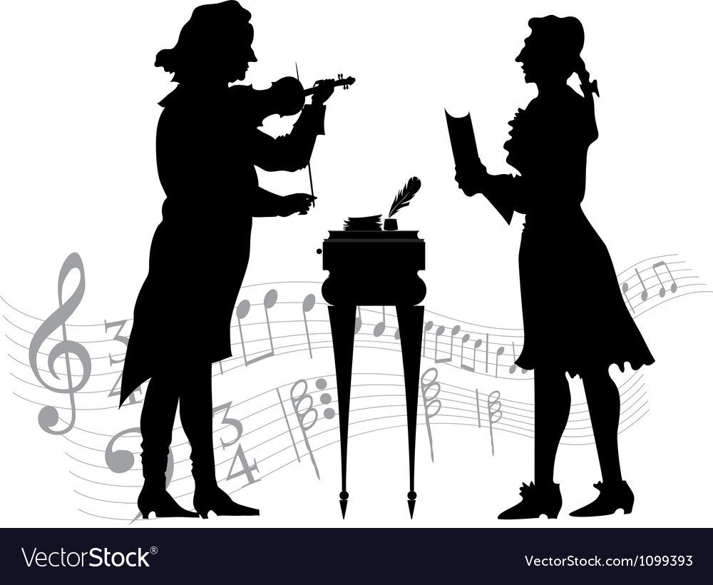 Classical musicians vector | Price: 1 Credit (USD $1)