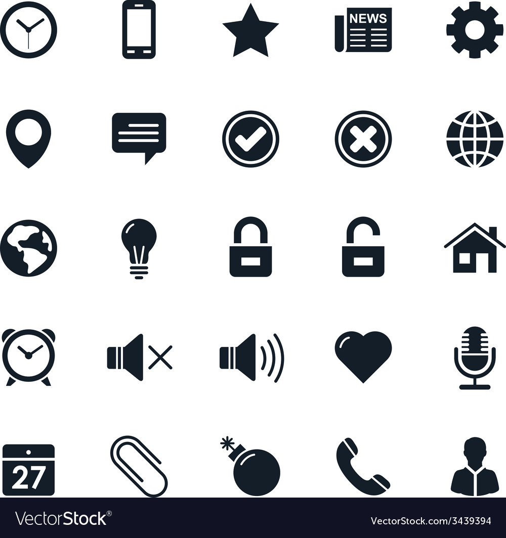 General icon vector | Price: 1 Credit (USD $1)