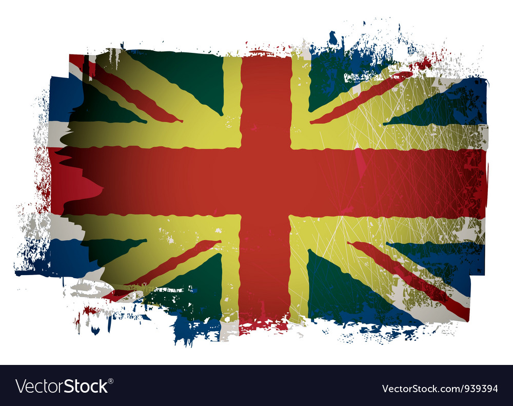 Old british flag vector | Price: 1 Credit (USD $1)