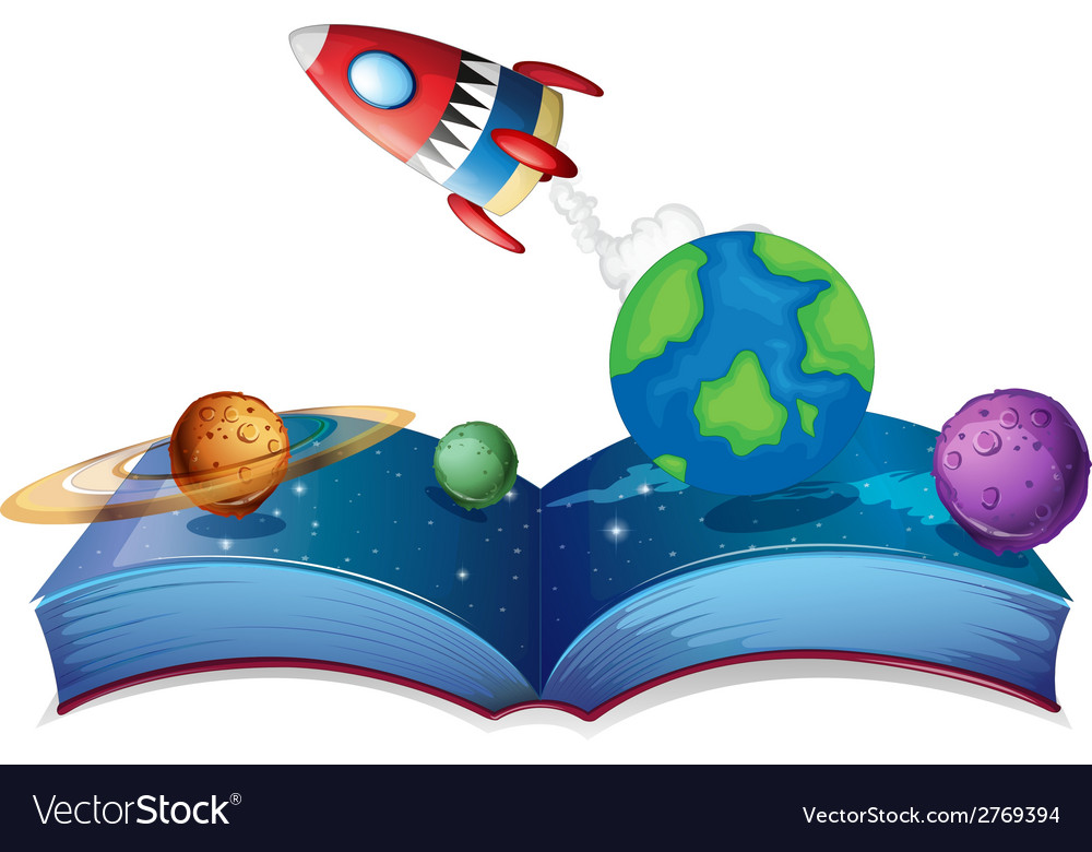 Rocket book vector | Price: 1 Credit (USD $1)