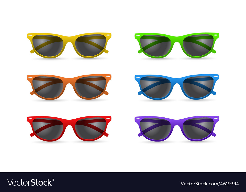 Unisex sunglasses vector | Price: 1 Credit (USD $1)