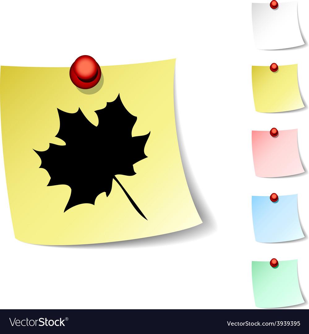 Autumn icon vector | Price: 1 Credit (USD $1)