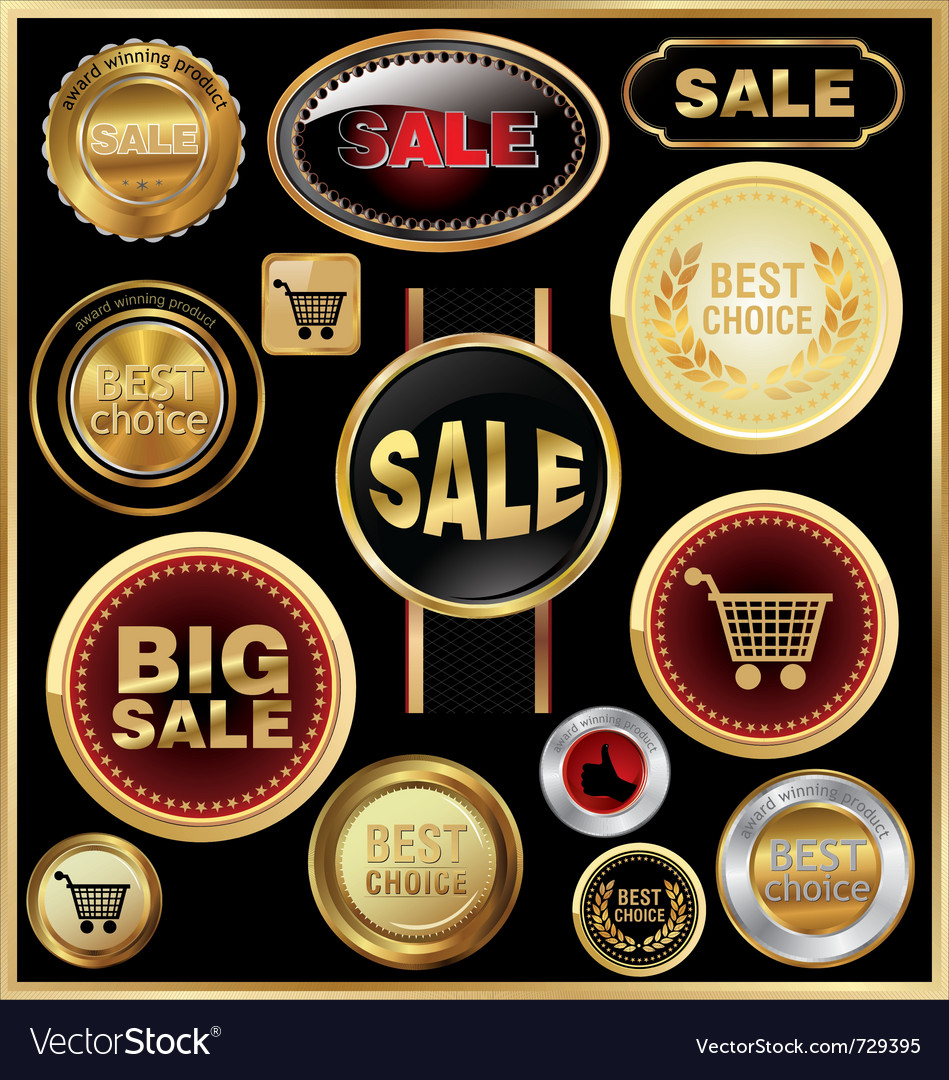 Design elements for business - sale vector | Price: 1 Credit (USD $1)
