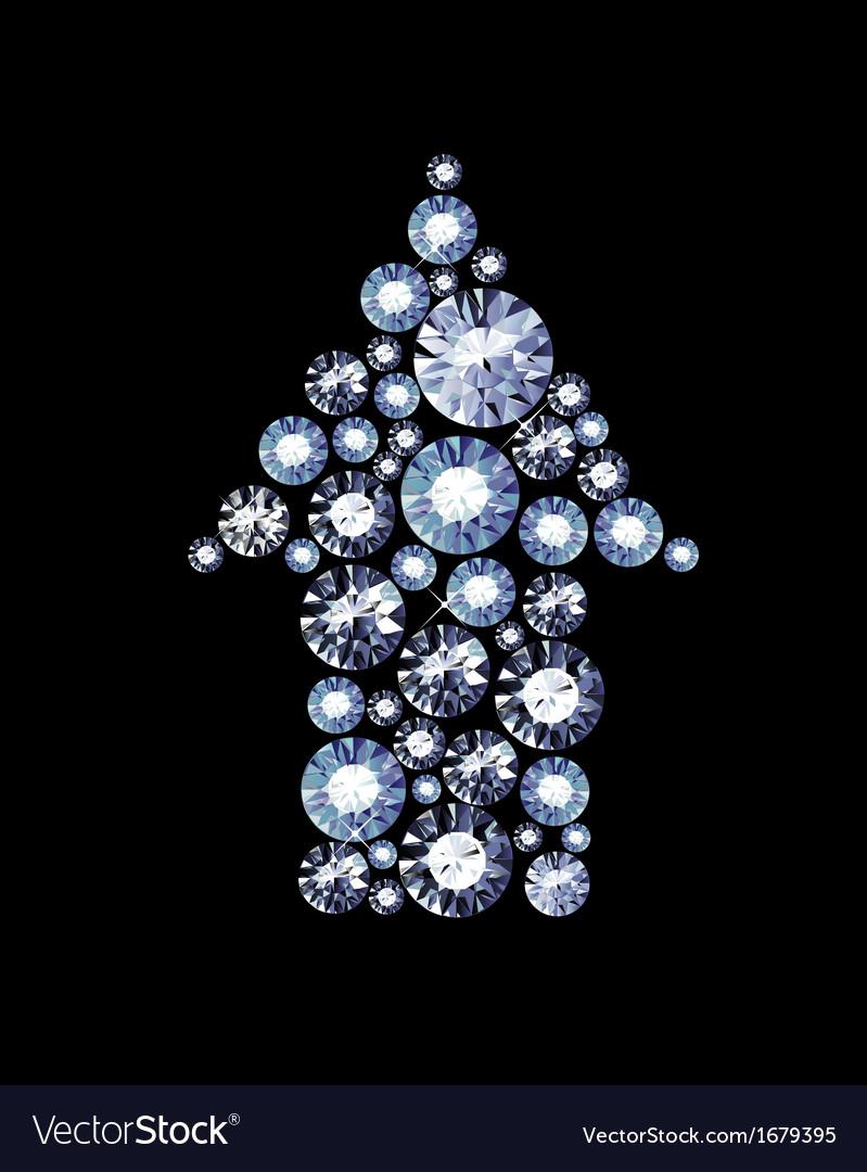 Diamond arrow vector   Price: 1 Credit (USD $1)