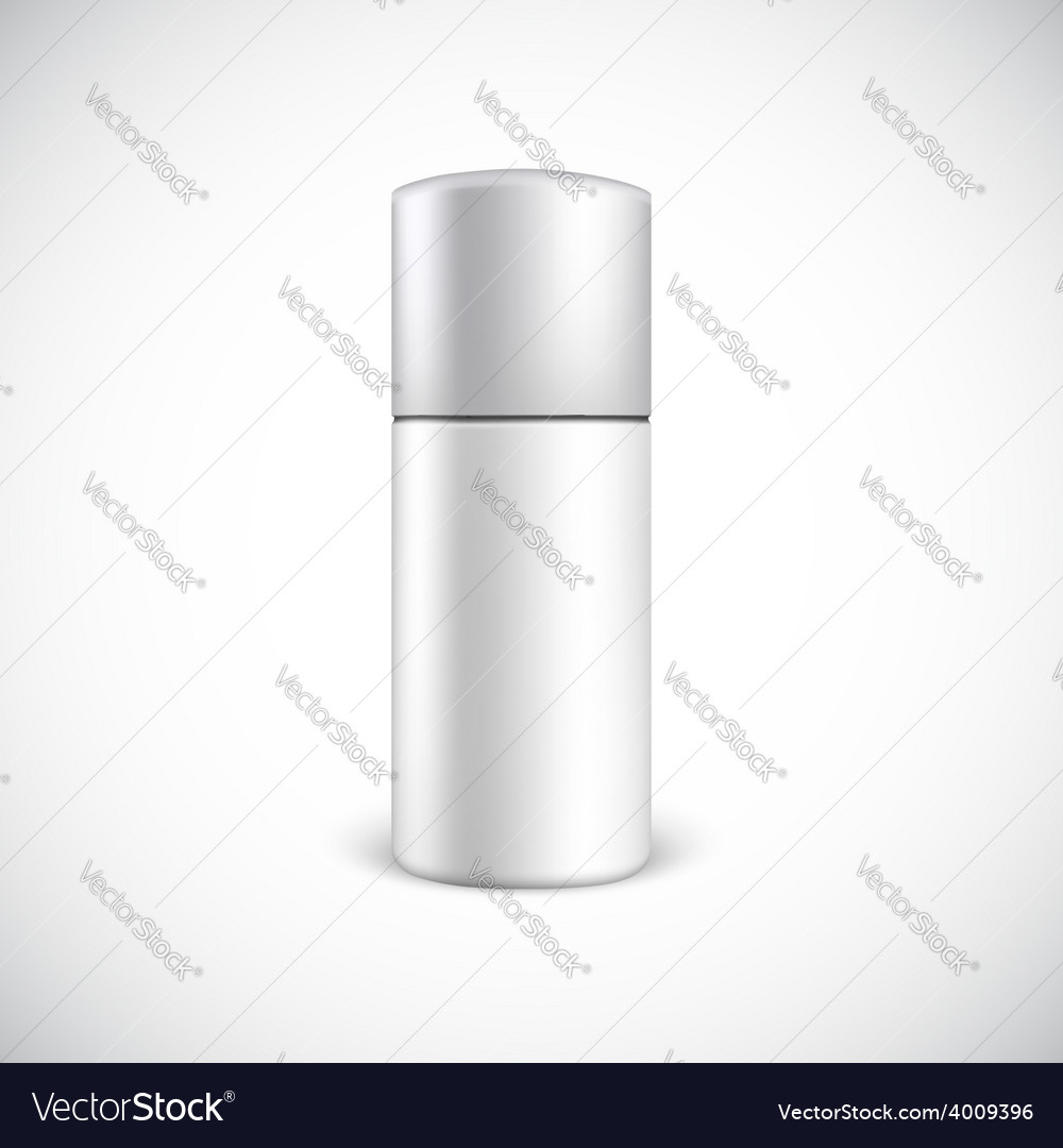 Blank cosmetics bottle with copy space vector | Price: 1 Credit (USD $1)