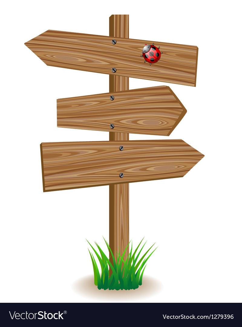 Wooden signboard vector   Price: 1 Credit (USD $1)