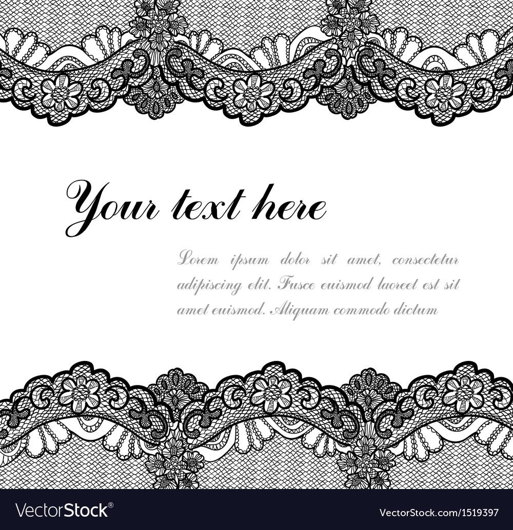 Black lace vector   Price: 1 Credit (USD $1)