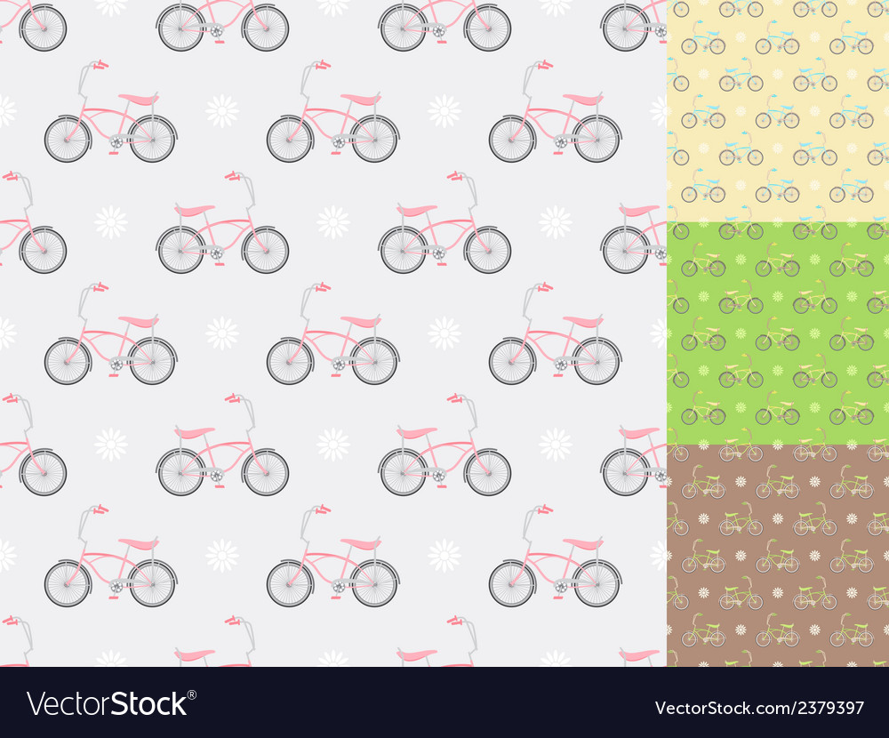 Colorful bikes vector | Price: 1 Credit (USD $1)