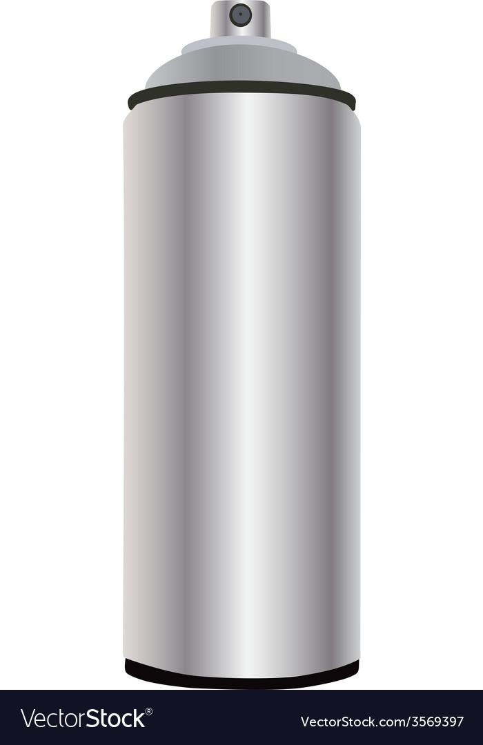 Spray bottle aluminum vector   Price: 1 Credit (USD $1)
