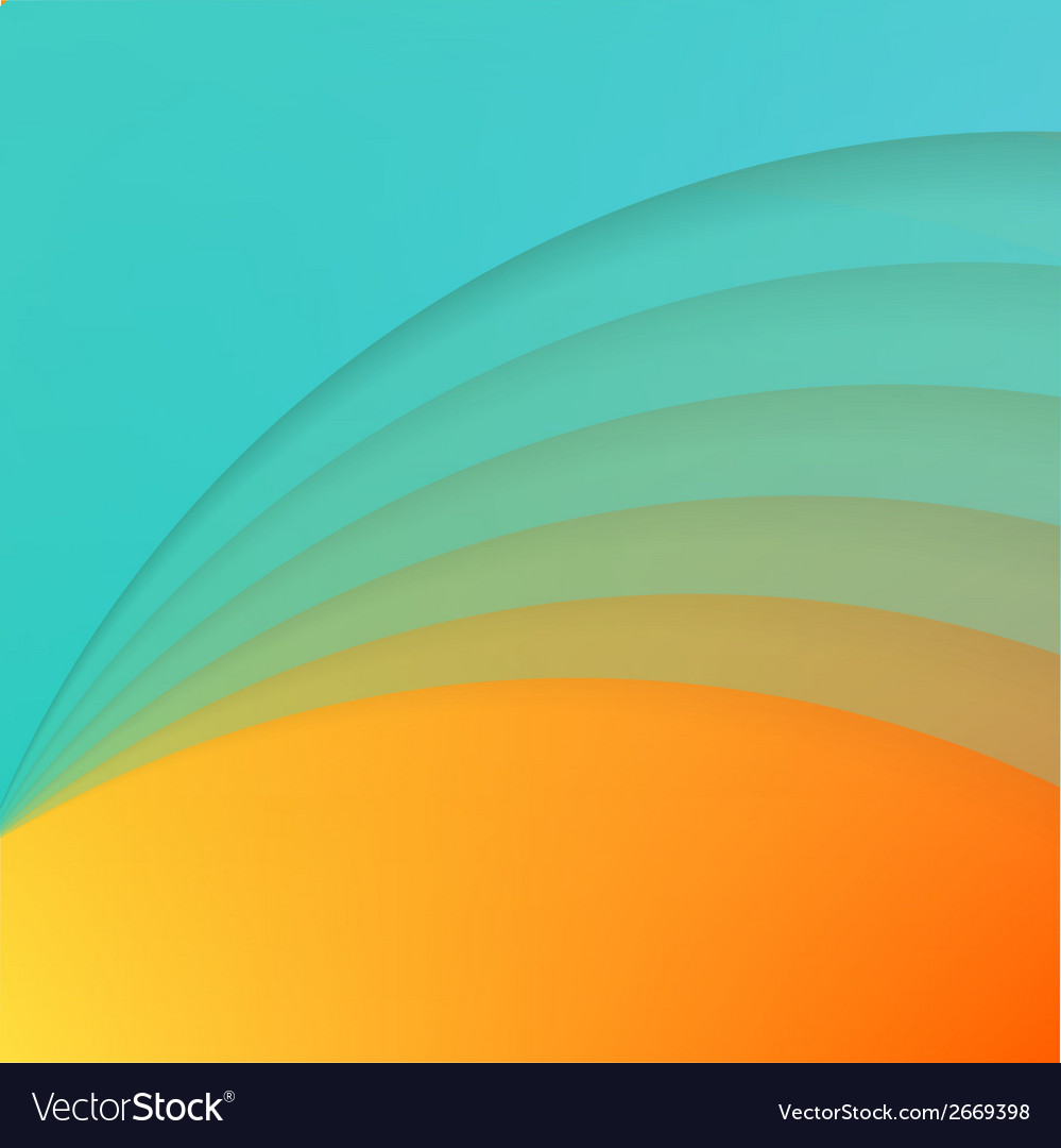 Abstract background with blue paper curves vector   Price: 1 Credit (USD $1)