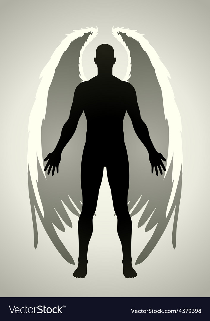 Angel vector | Price: 1 Credit (USD $1)