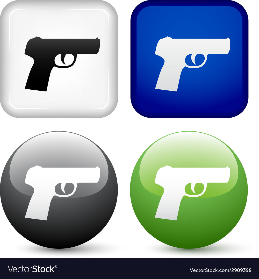 Gun buttons vector | Price: 1 Credit (USD $1)