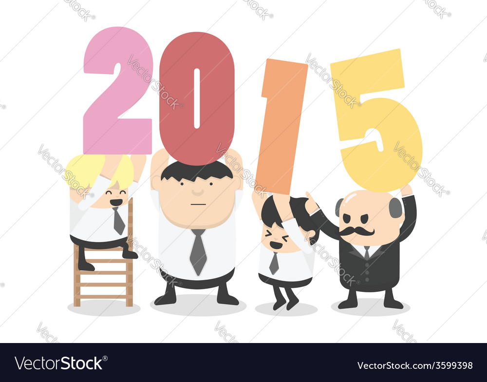 Welcome 2015 vector | Price: 1 Credit (USD $1)