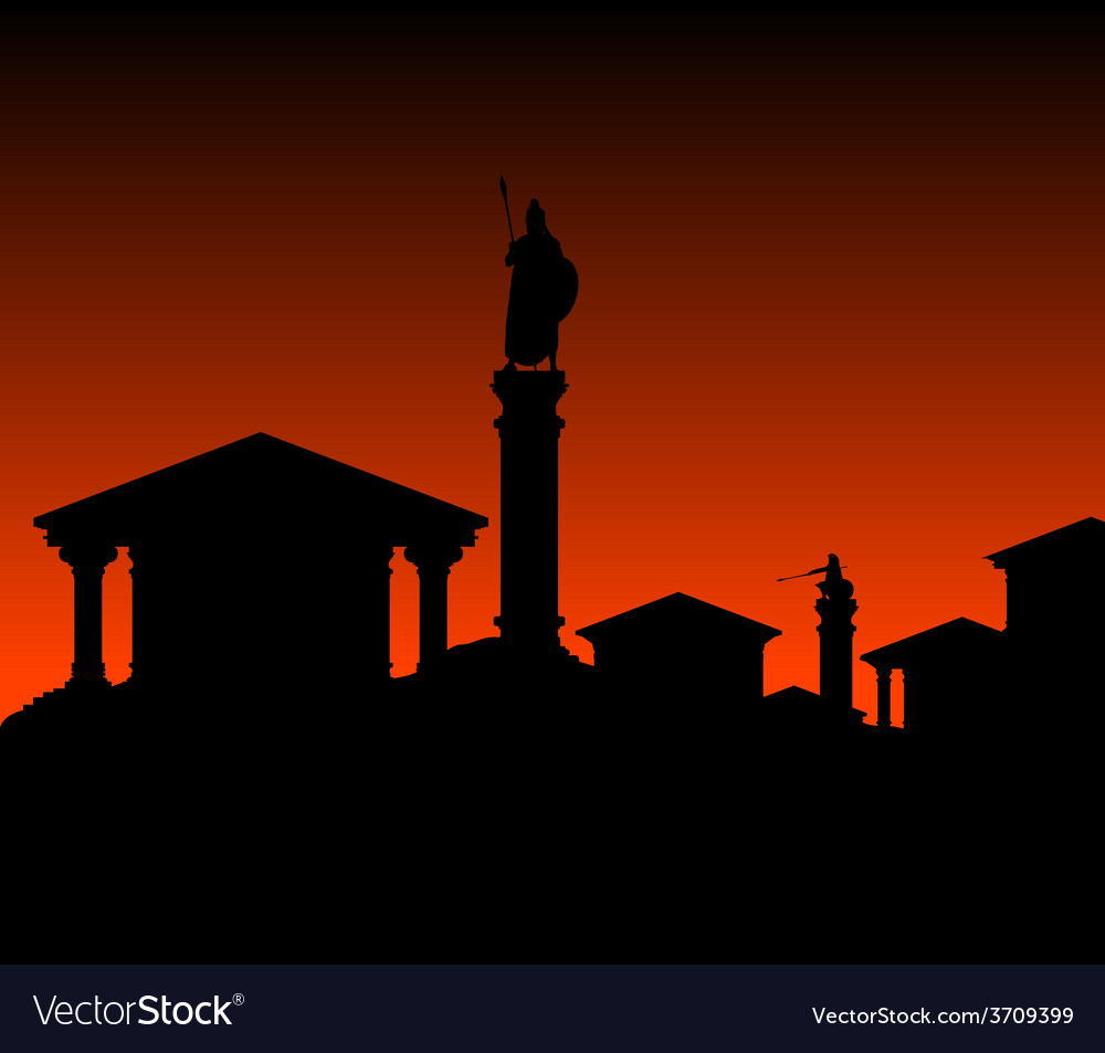 Ancient city vector | Price: 1 Credit (USD $1)