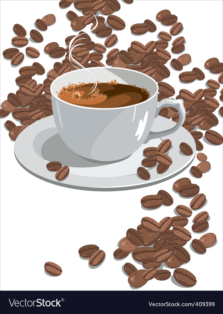 Coffee vector | Price: 3 Credit (USD $3)