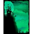 Spooky halloween composition eps 10 vector