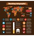 Smoking infographics set vector