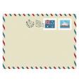 Australia airmail vector