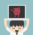 On line store on line shop internet shopping eleme vector