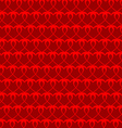 Heart seamless background vector