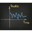 Business chart vector