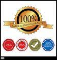 100 percent satisfaction gaurantee vector